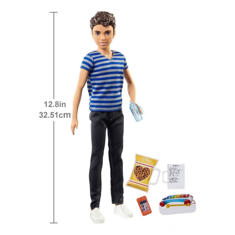 Barbie Skipper Babysitters Inc. Boy Sitter Doll and Accessory Deal