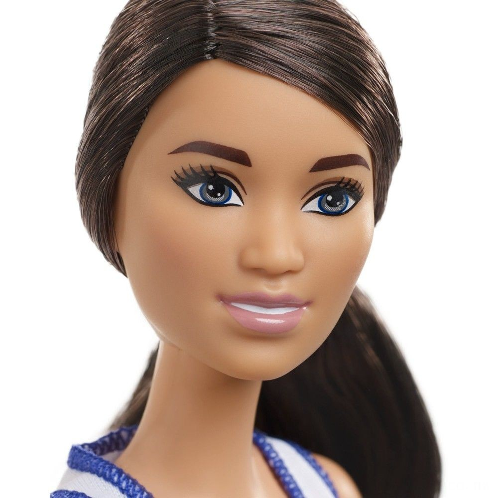 Barbie Made to Move Basketball Player Doll Deal