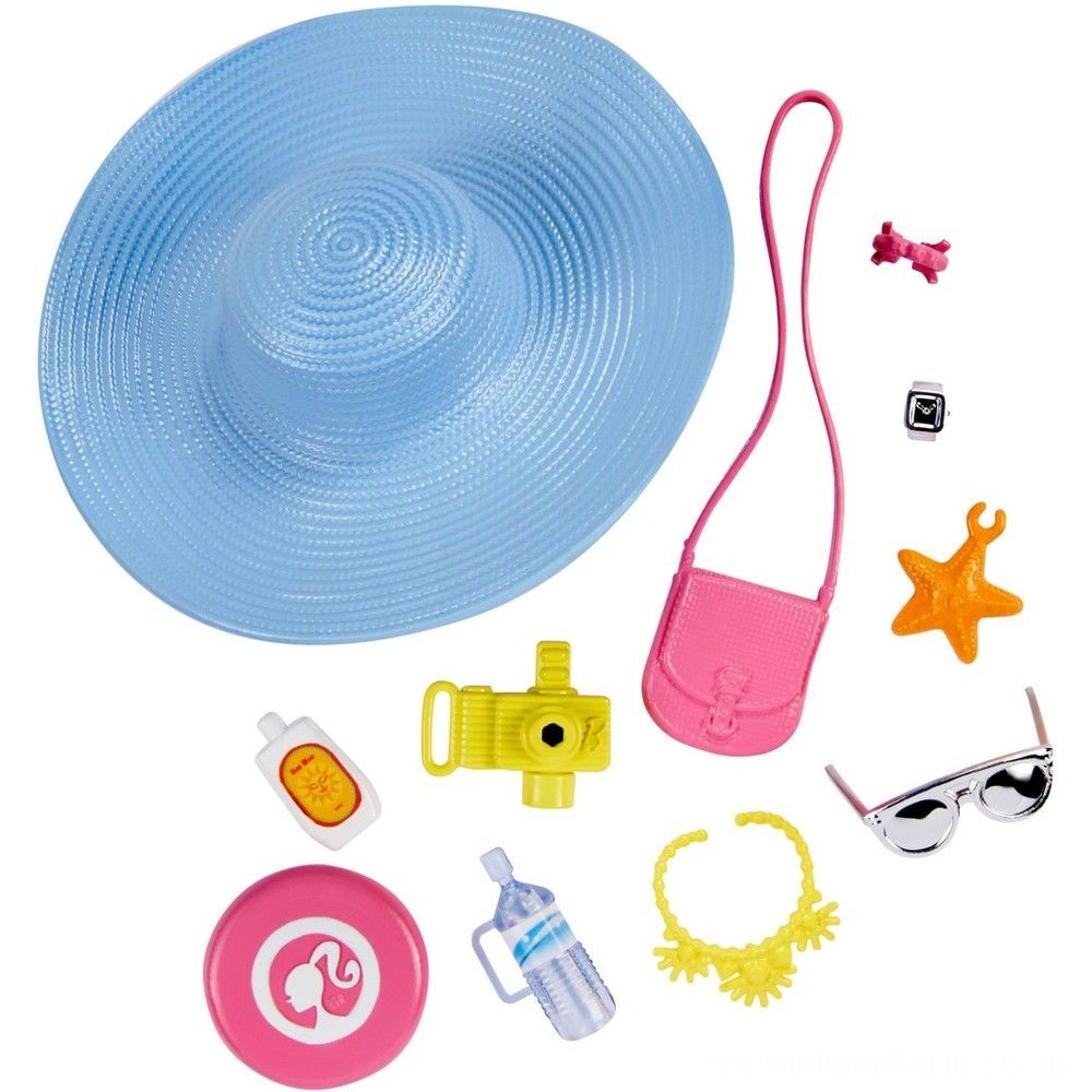 Barbie Fashion Sightseeing Accessory Pack Deal