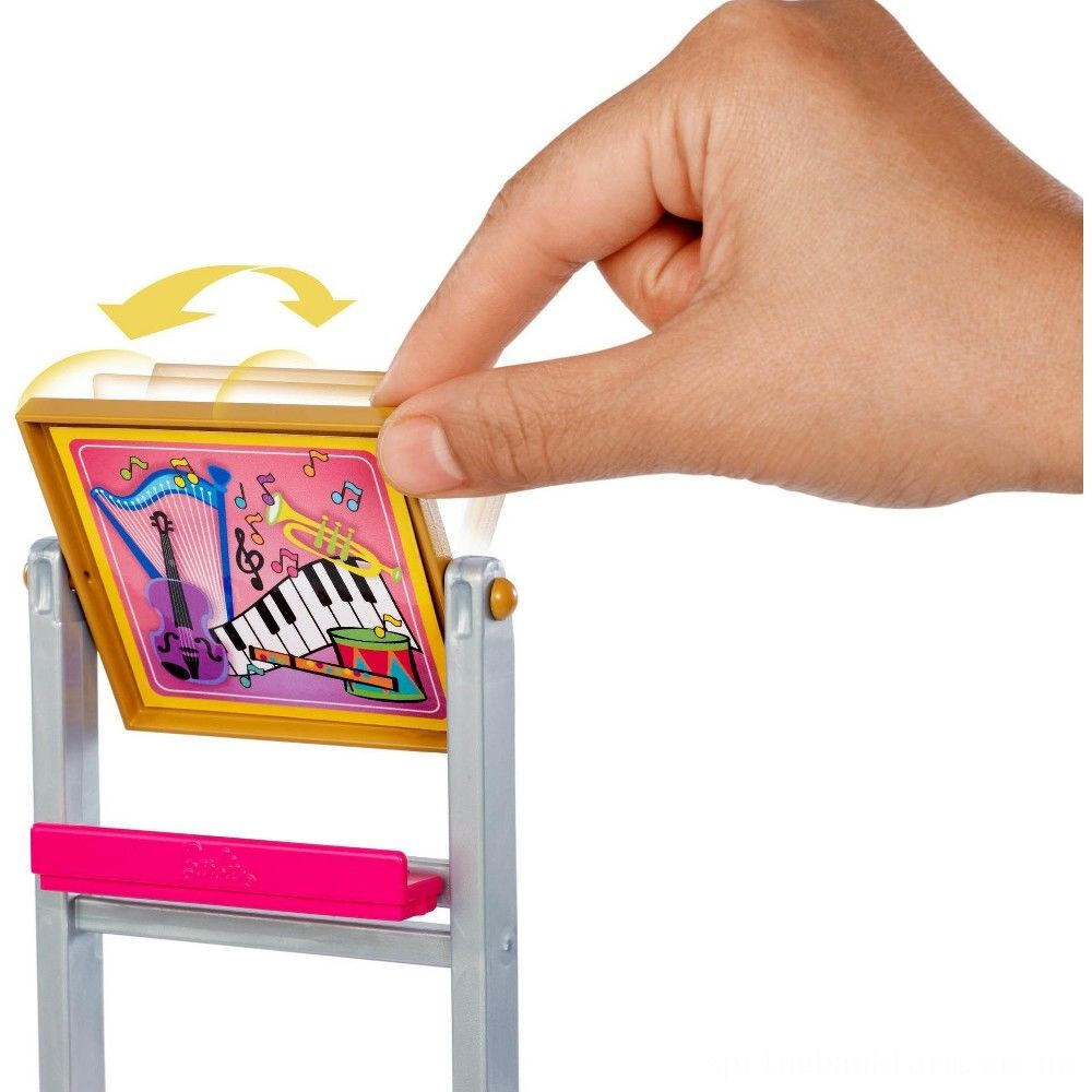 Barbie Music Teacher Doll & Playset Deal