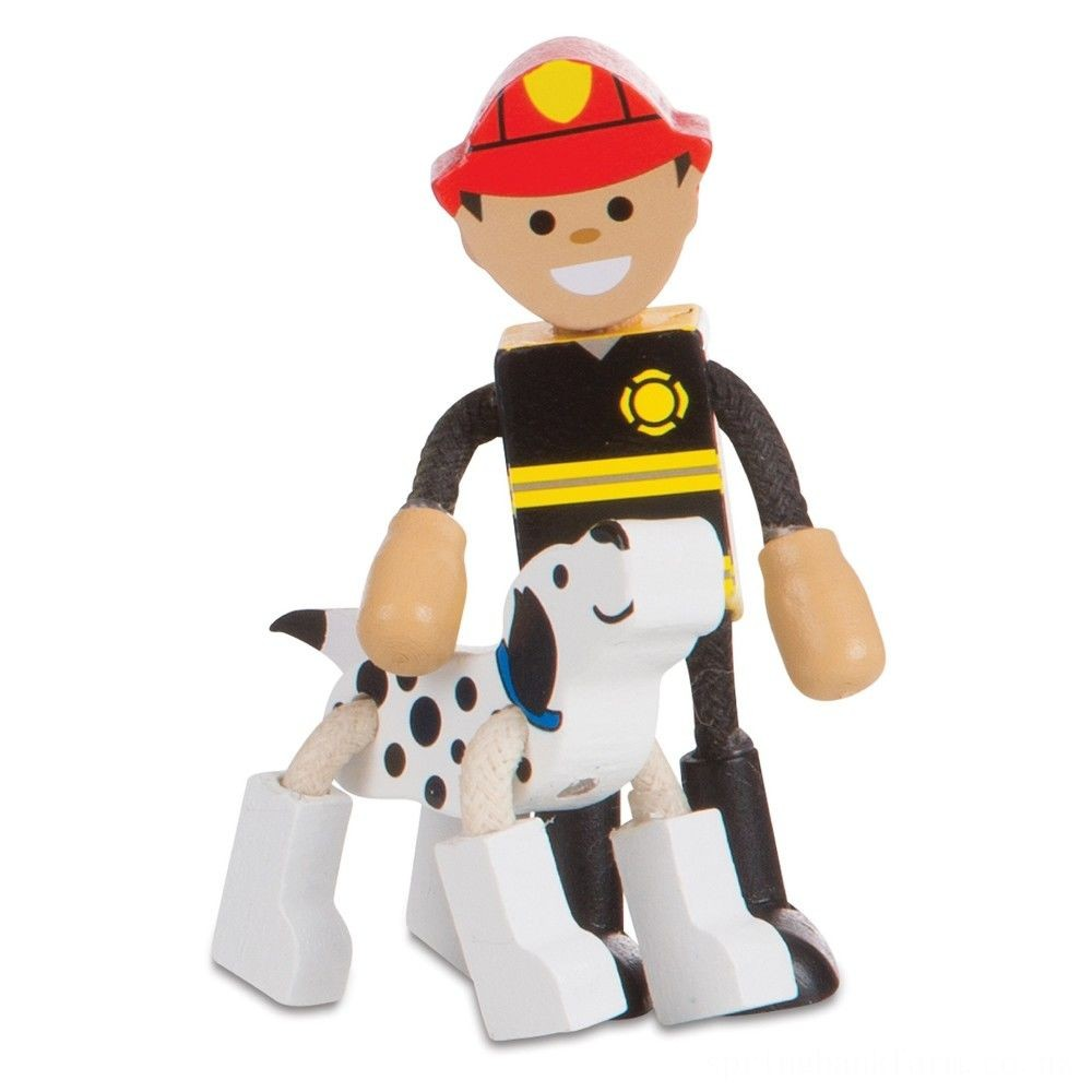 Melissa & Doug Wooden Flexible Figures - Careers Deal