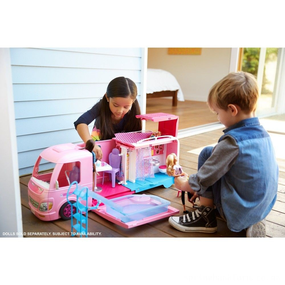 Barbie Dream Camper Playset Deal