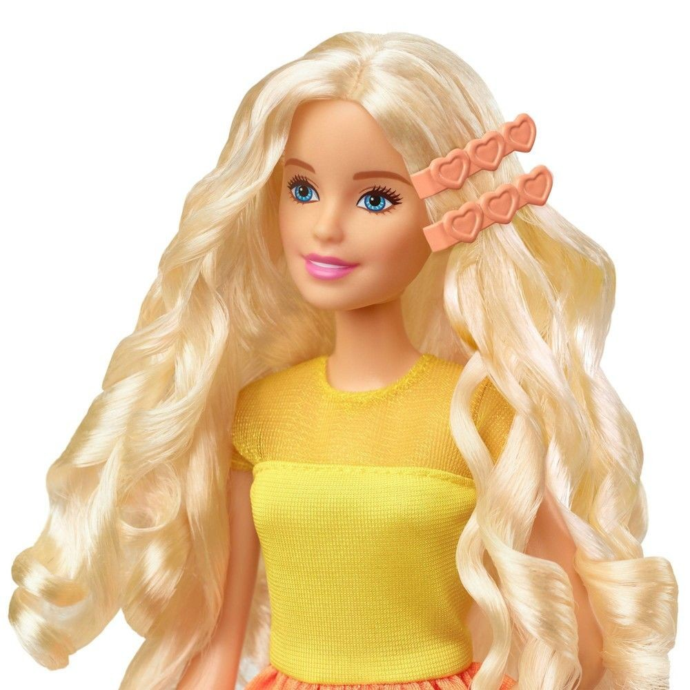 Barbie Ultimate Curls Doll and Playset Deal