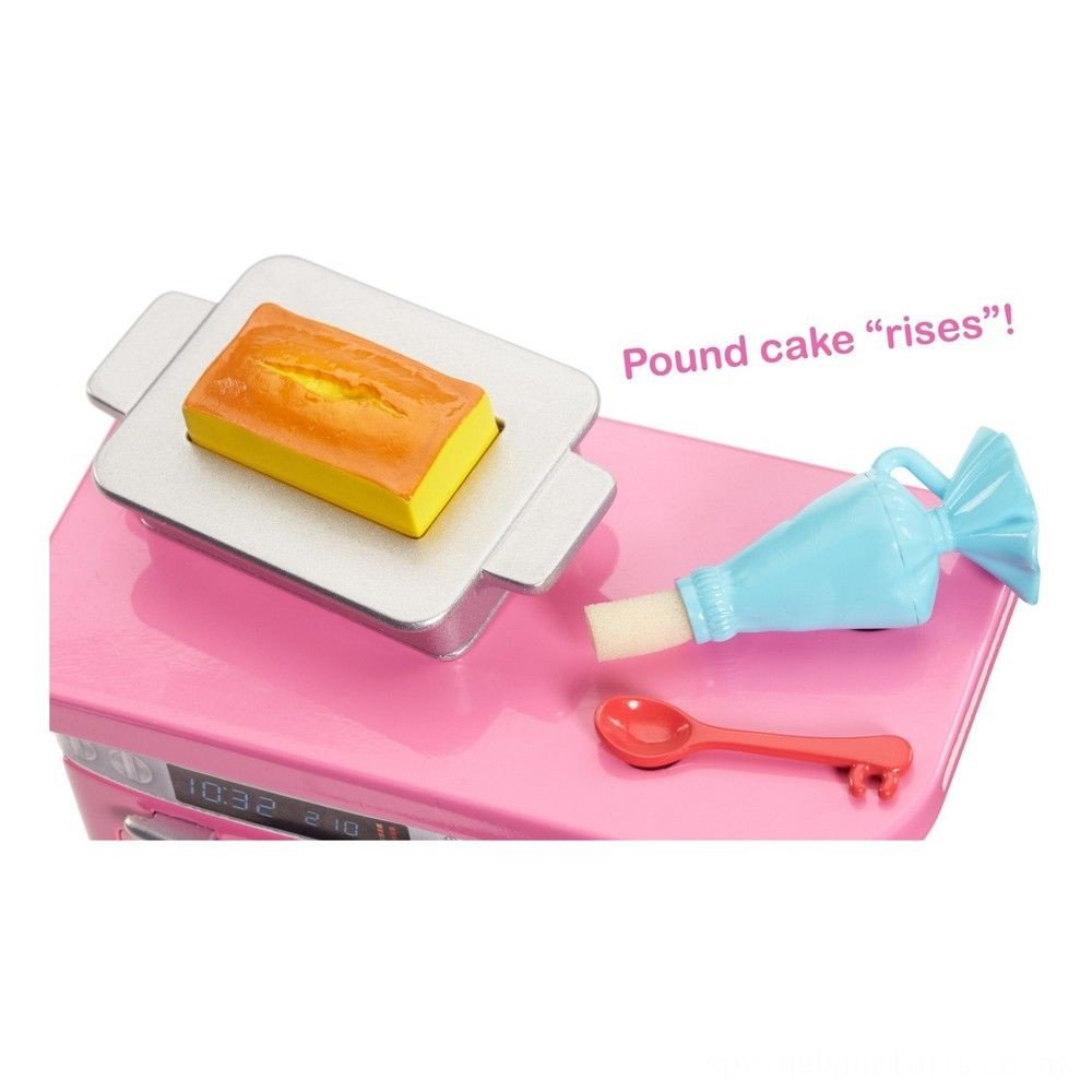 Barbie Bakery Chef Nikki Doll and Playset Deal