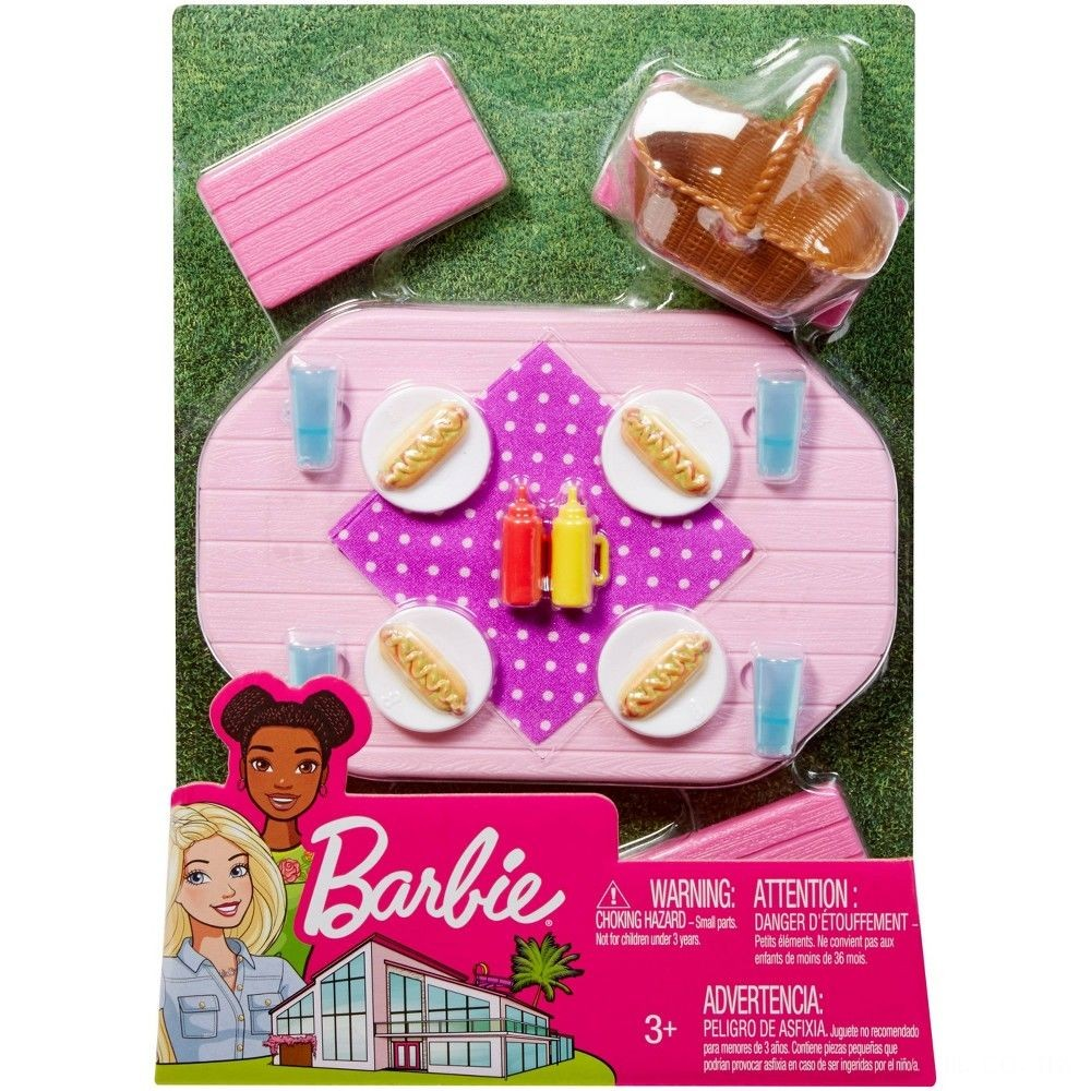 Barbie Picnic Table Accessory Deal