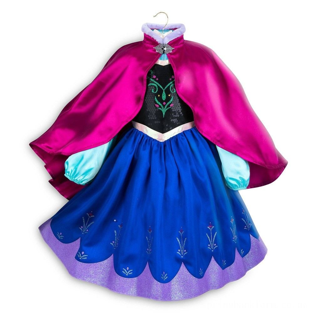Disney Frozen 2 Anna Kids' Dress - Size 3 - Disney store, Girl's, Blue Deal