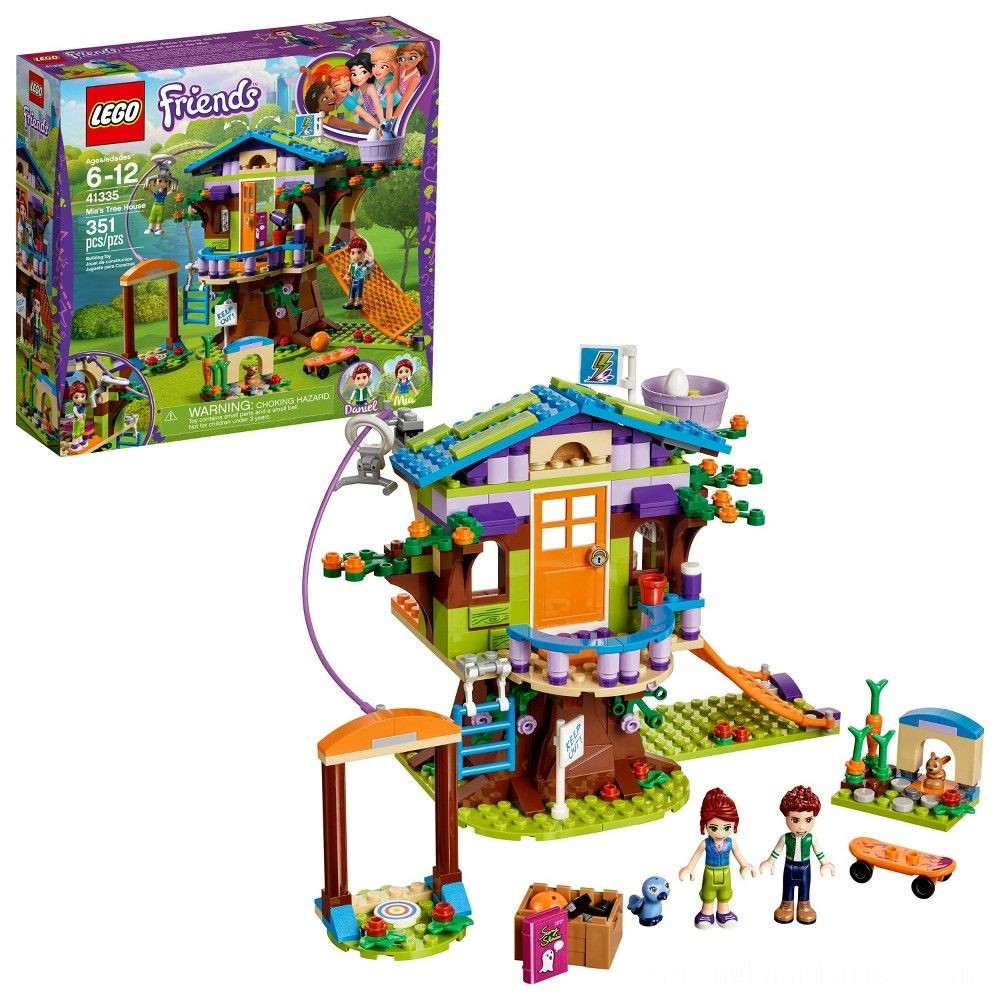 LEGO Friends Mia's Tree House 41335 Deal