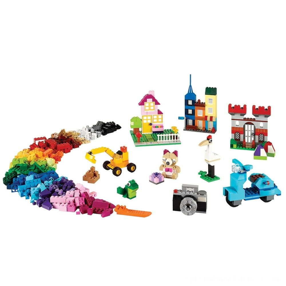 LEGO Classic Large Creative Brick Box 10698 Build Your Own Creative Toys, Kids Building Kit Deal