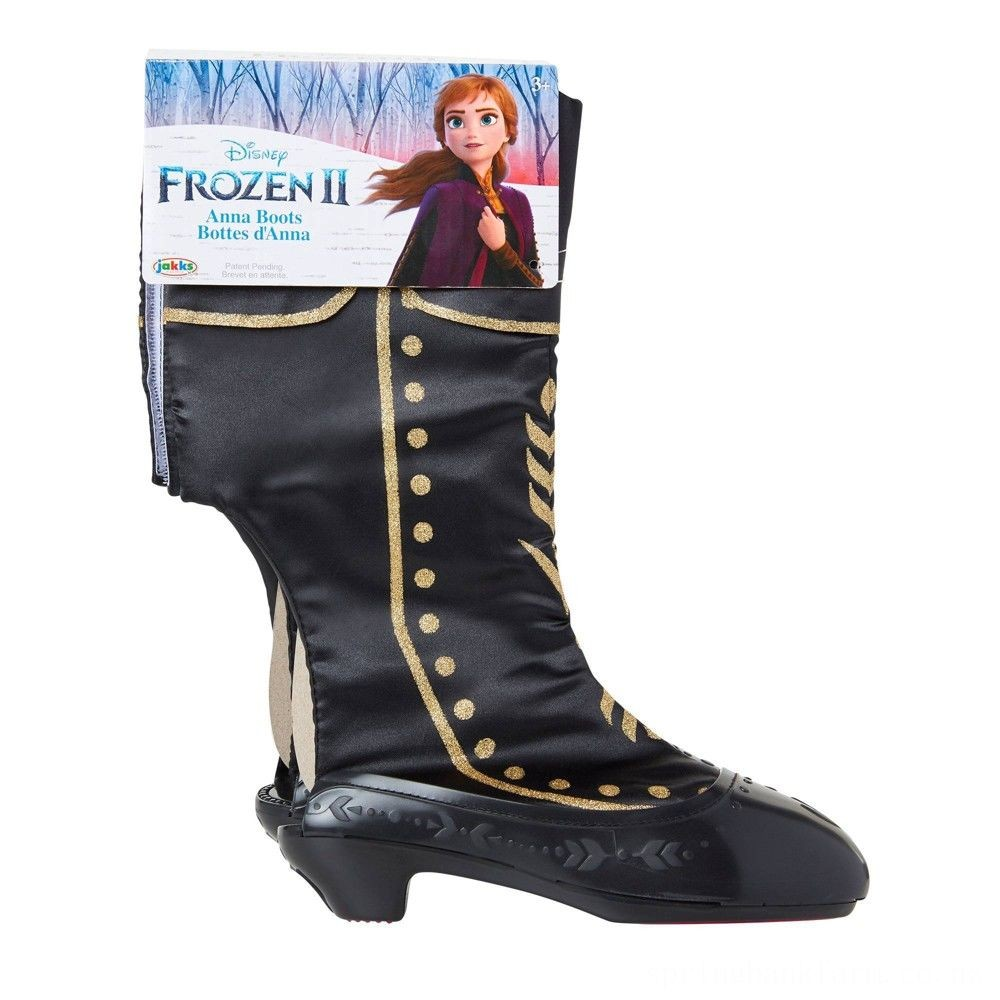 Disney Frozen 2 Anna Boots Deal