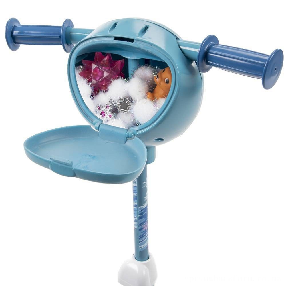 Disney Frozen 2 Secret Storage Scooter - Blue, Girl's Deal
