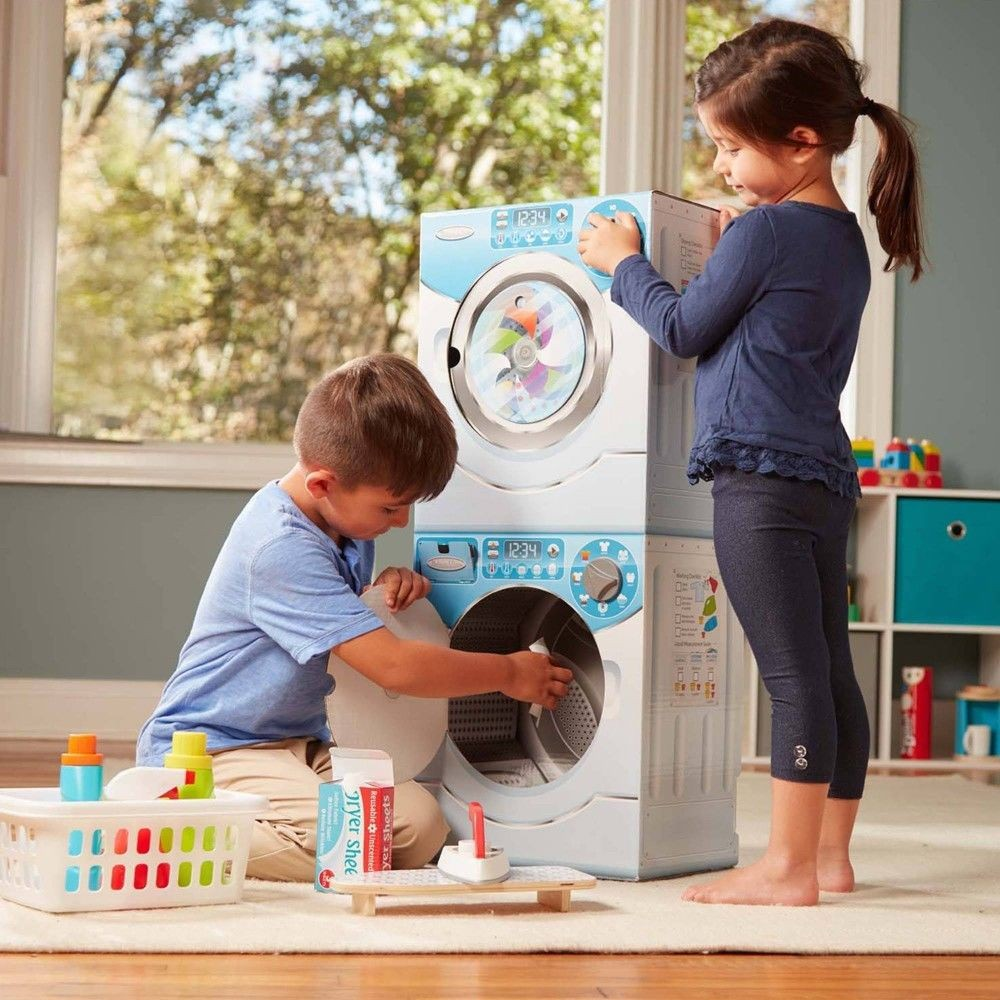 Melissa & Doug Washer/Dryer Combo Cardboard Play Set Deal