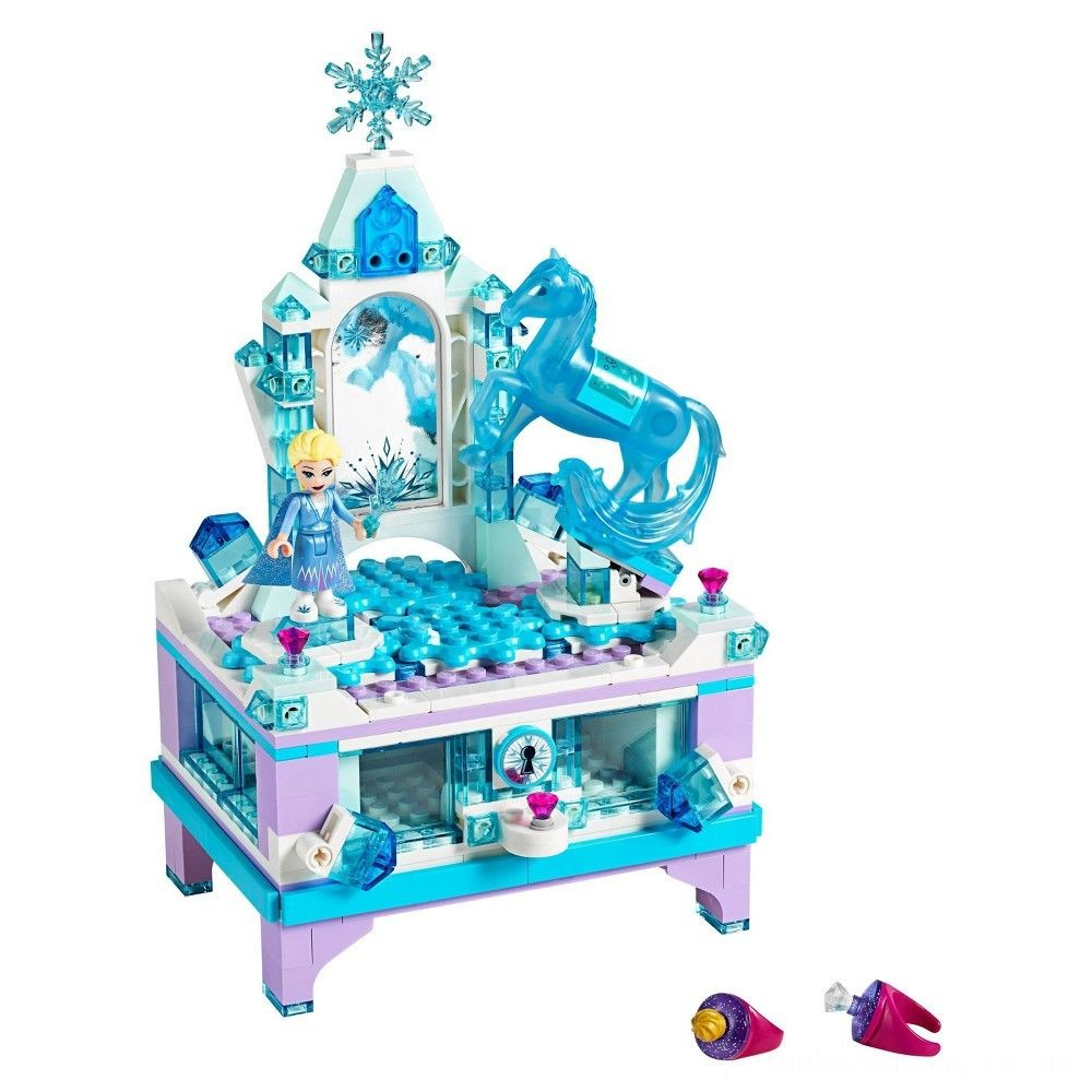 LEGO Disney Princess Frozen 2 Elsa's Jewelry Box Creation 41168 Disney Jewelry Box Building Kit 300pc Deal