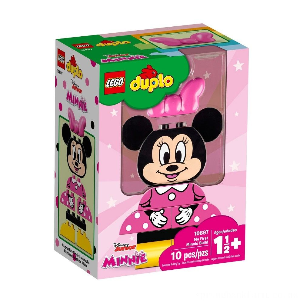 LEGO DUPLO Minnie Mouse My First Minnie Build 10897 Deal
