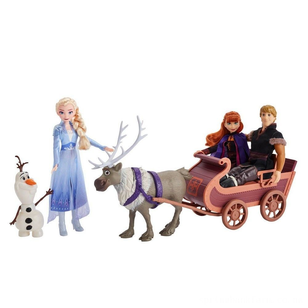 Disney Frozen 2 Sledding Adventures Doll Pack Deal