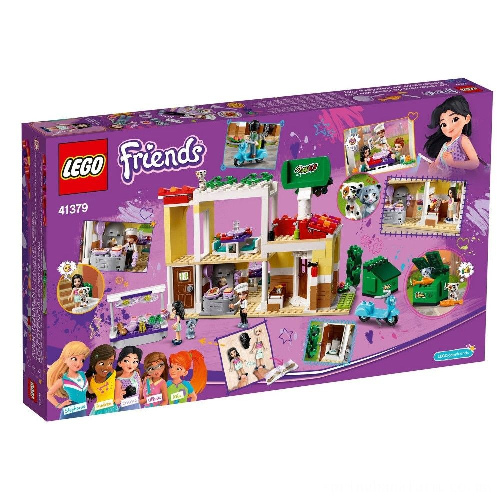 LEGO Friends Heartlake City Restaurant 41379 Building Kit with Restaurant Playset and Mini Dolls Deal