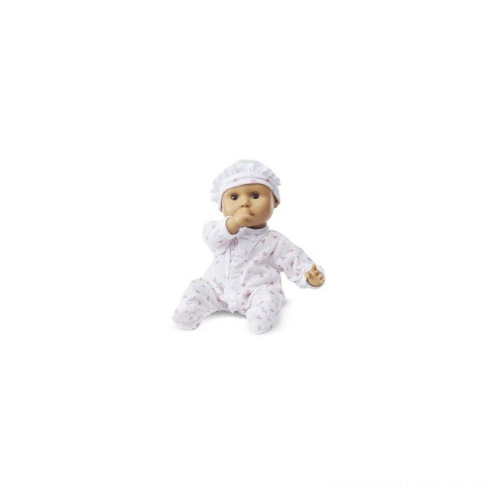 Melissa & Doug Mine to Love Mariana 12-Inch Poseable Baby Doll With Romper and Hat Deal
