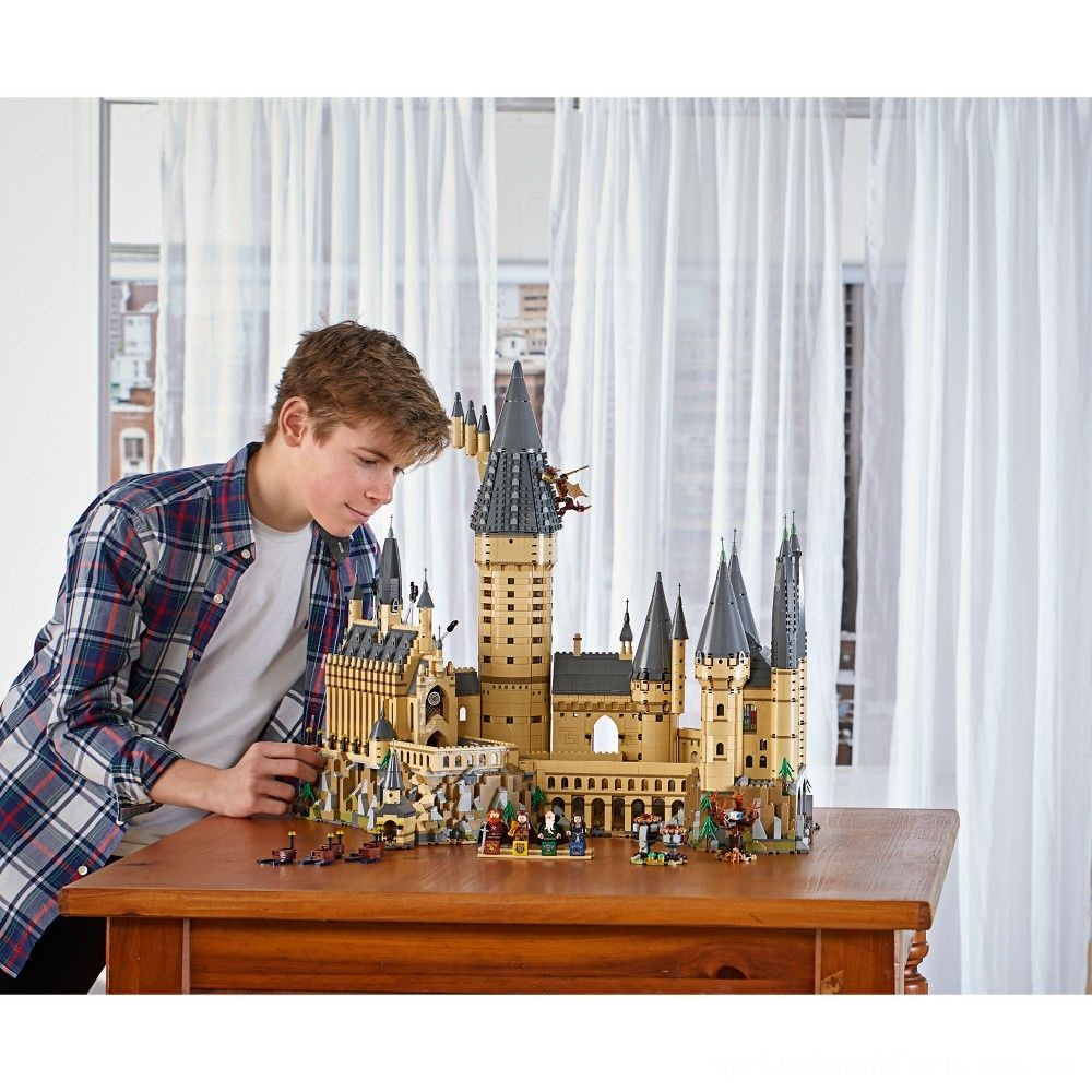 LEGO Harry Potter Hogwarts Castle Advanced Building Set Model with Harry Potter Minifigures 71043 Deal
