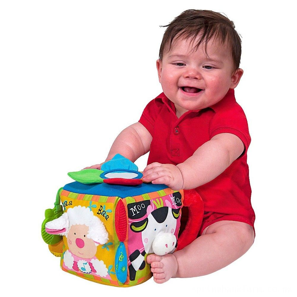 Melissa & Doug K's Kids Musical Farmyard Cube Educational Baby Toy Deal