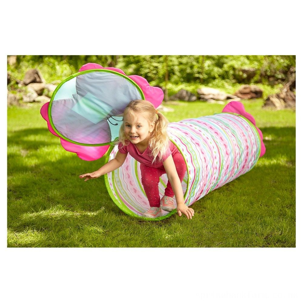 Melissa & Doug Sunny Patch Cutie Pie Butterfly Crawl-Through Tunnel (almost 5 feet long) Deal