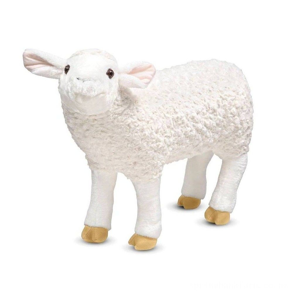 Melissa & Doug Giant Sheep - Lifelike Stuffed Animal (nearly 2 feet tall) Deal
