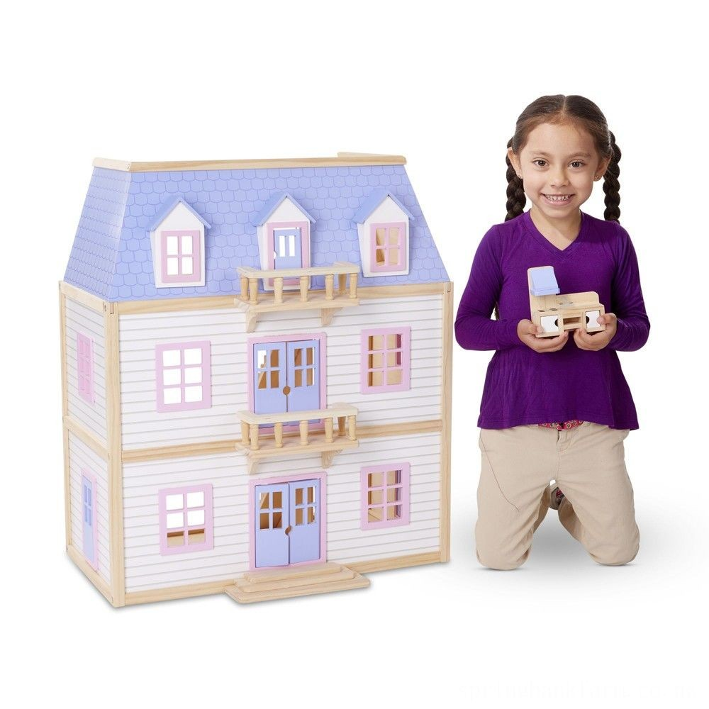 Melissa & Doug Multi-Level Dollhouse Deal