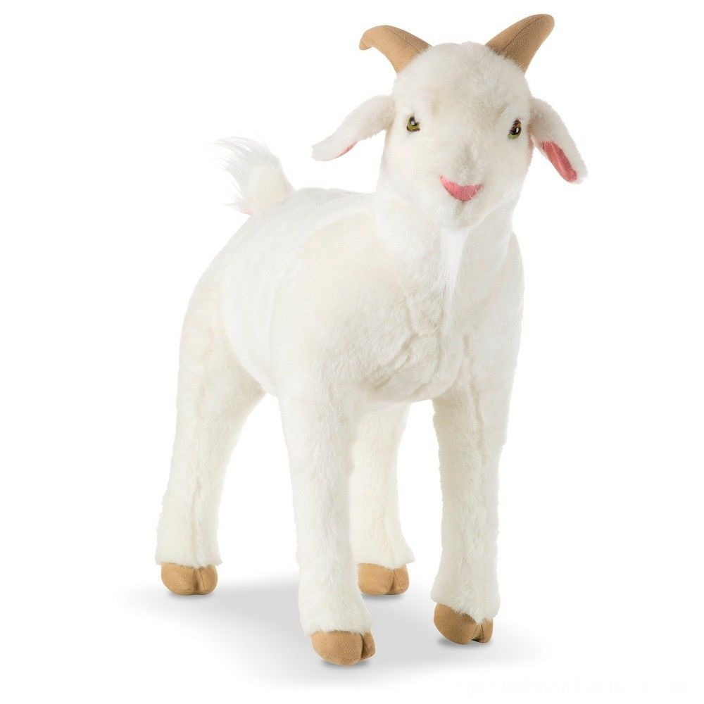 Melissa & Doug Goat Plush Toy Deal
