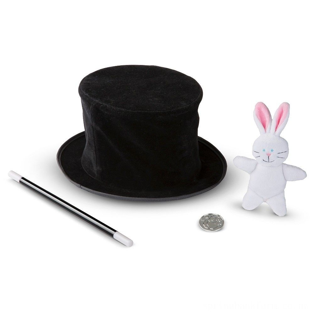 Melissa & Doug Magic in a Snap - Magician's Pop-Up Magical Hat with Tricks Deal