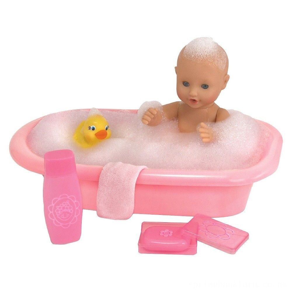 Melissa & Doug Mine to Love Baby Doll Bathtub and Accessories Set (6pc) Deal