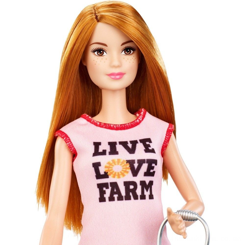 Barbie Chicken Farmer Doll & Playset Deal