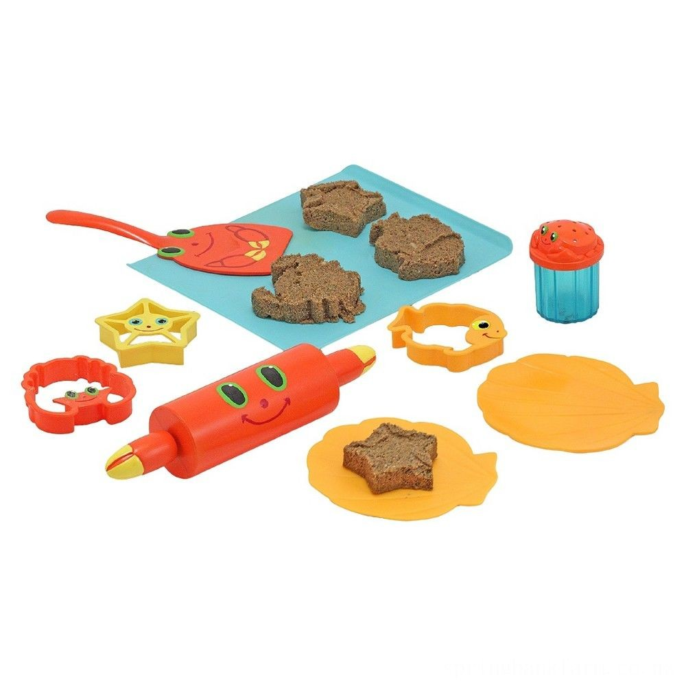 Melissa & Doug Sunny Patch Seaside Sidekicks Sand Cookie-Baking Set Deal