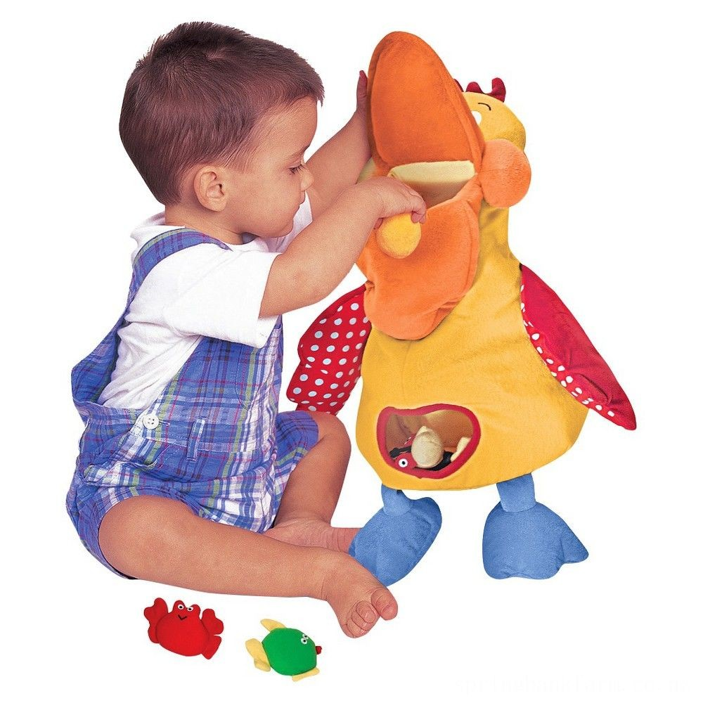 Melissa & Doug K's Kids Hungry Pelican Soft Baby Educational Toy Deal