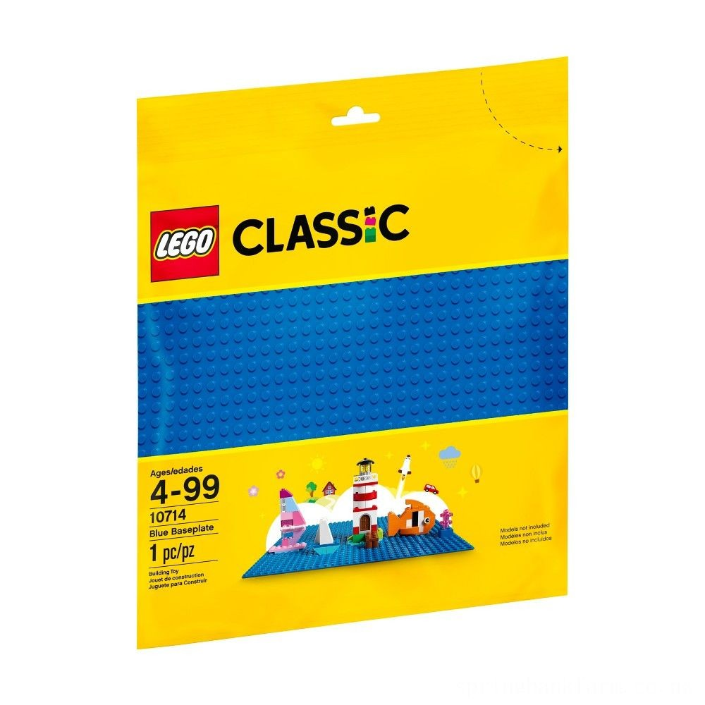 LEGO Classic Blue Baseplate 10714 Deal