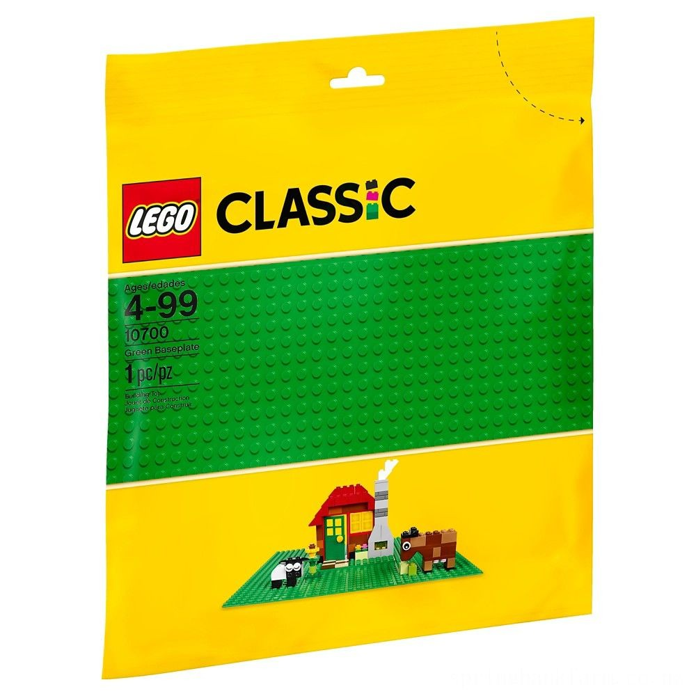 LEGO Classic Green Baseplate 10700 Deal