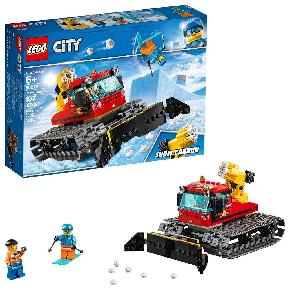 LEGO City Great Vehicles Snow Groomer 60222 Deal