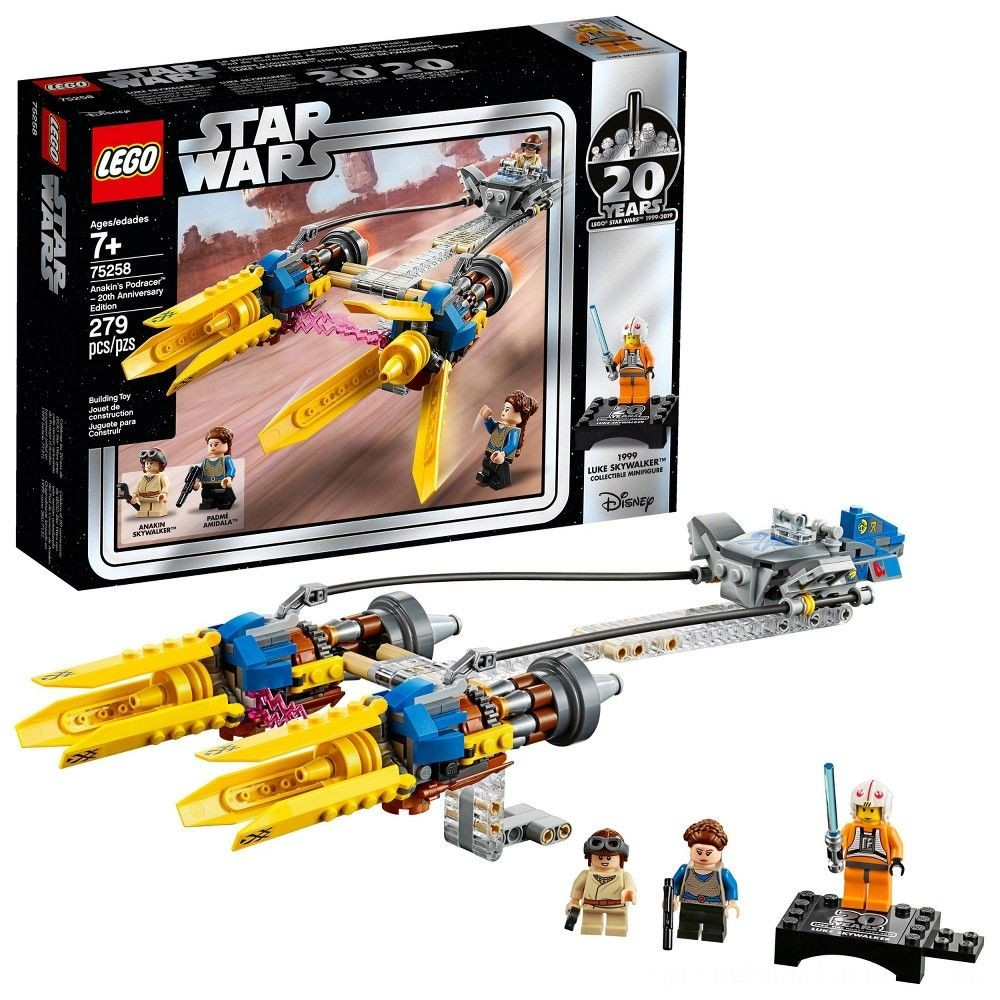 LEGO Star Wars Anakin's Podracer - 20th Anniversary Edition 75258 Deal