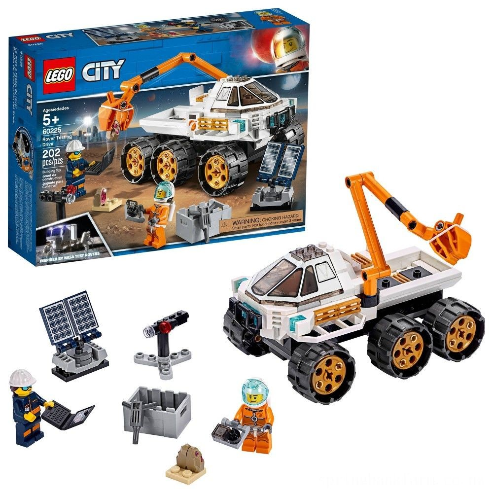 LEGO City Space Port Rover Testing Drive 60225 Deal