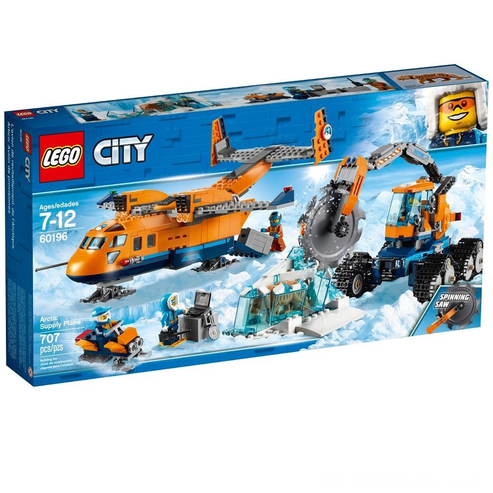 LEGO City Arctic Supply Plane 60196 Deal