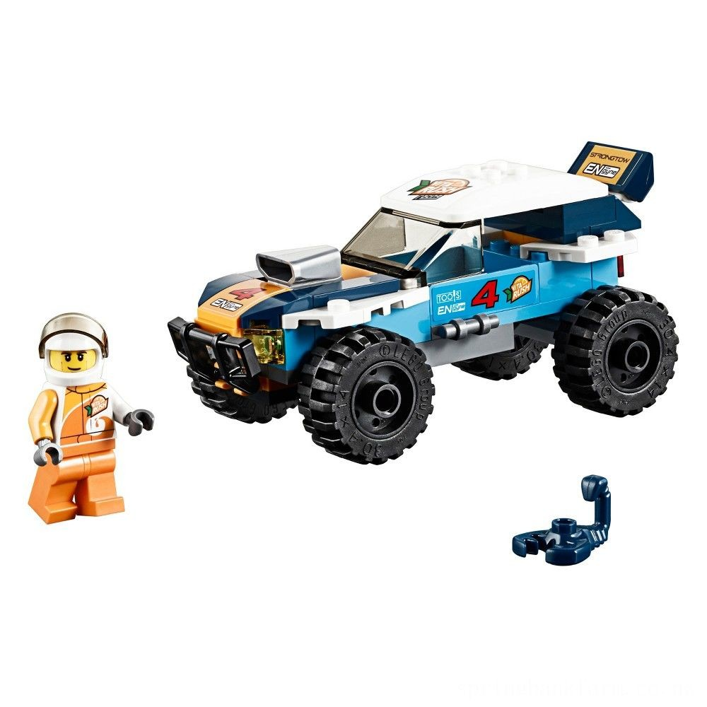 LEGO City Desert Rally Racer 60218 Deal