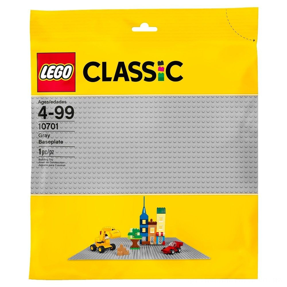 LEGO Classic Gray Baseplate 10701 Deal