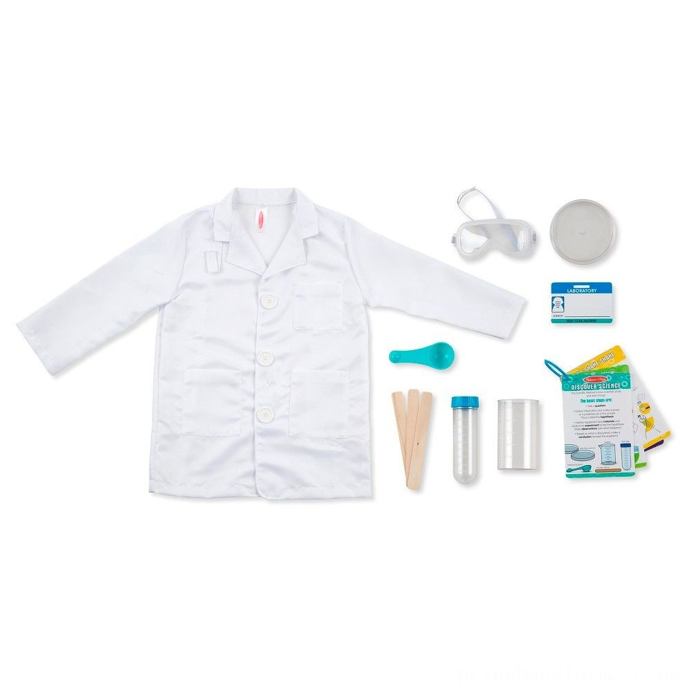 Melissa & Doug Scientist Role Play Deal