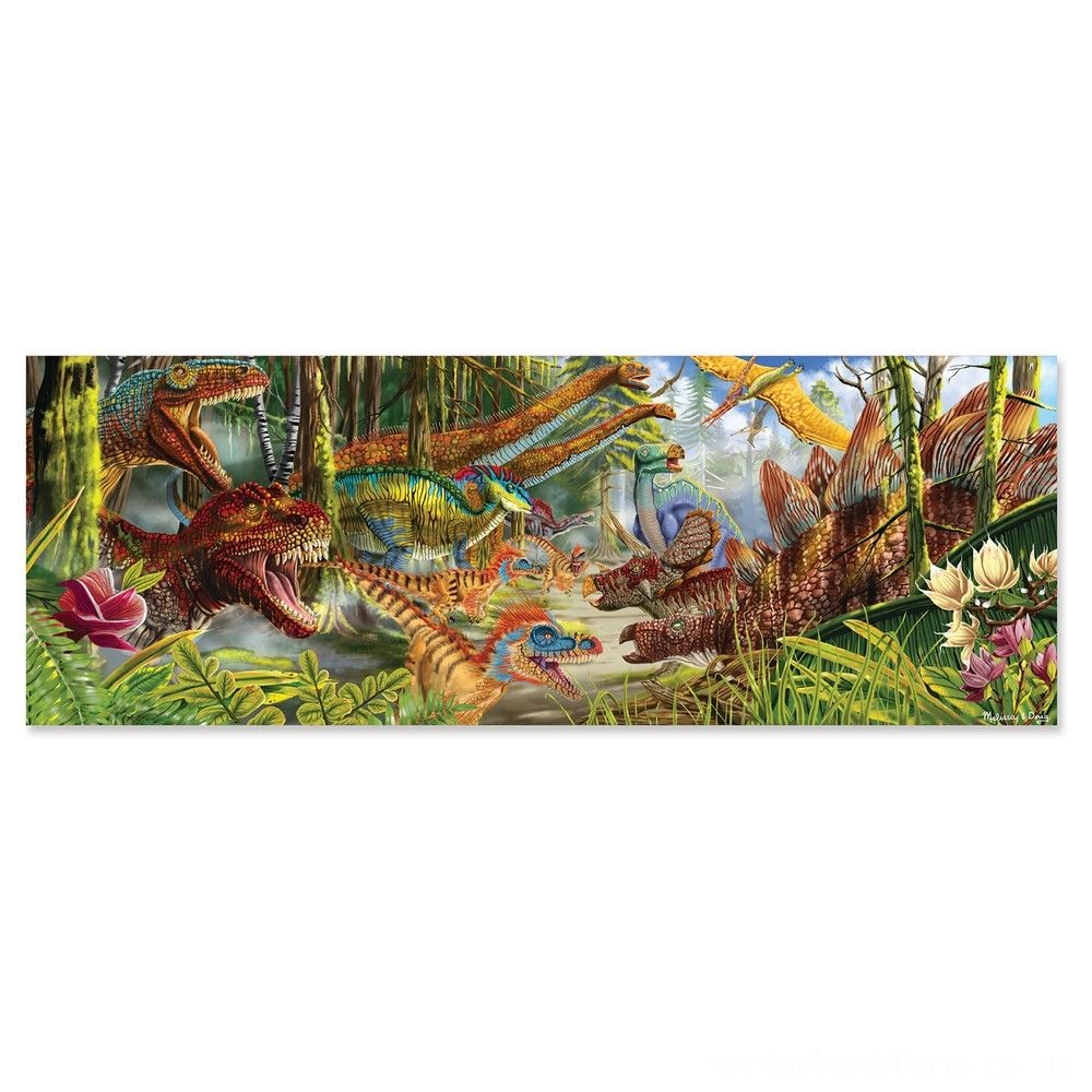 Melissa And Doug Dinosaur World Jumbo Floor Puzzle 200pc Deal