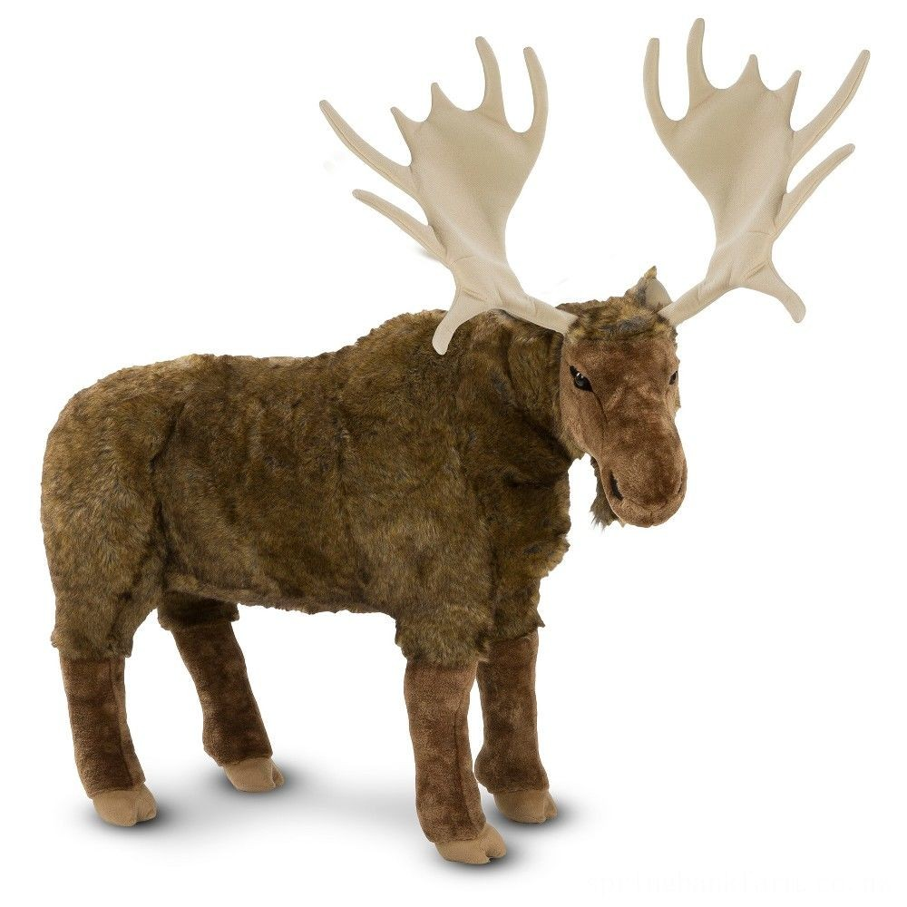 Melissa & Doug Moose Plush Toy Deal