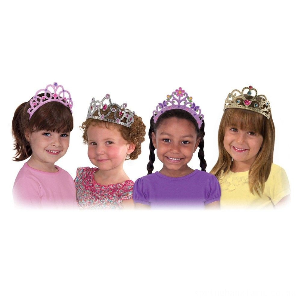 Melissa & Doug Role Play Dress-Up Bundle - Tiaras and Wands Deal