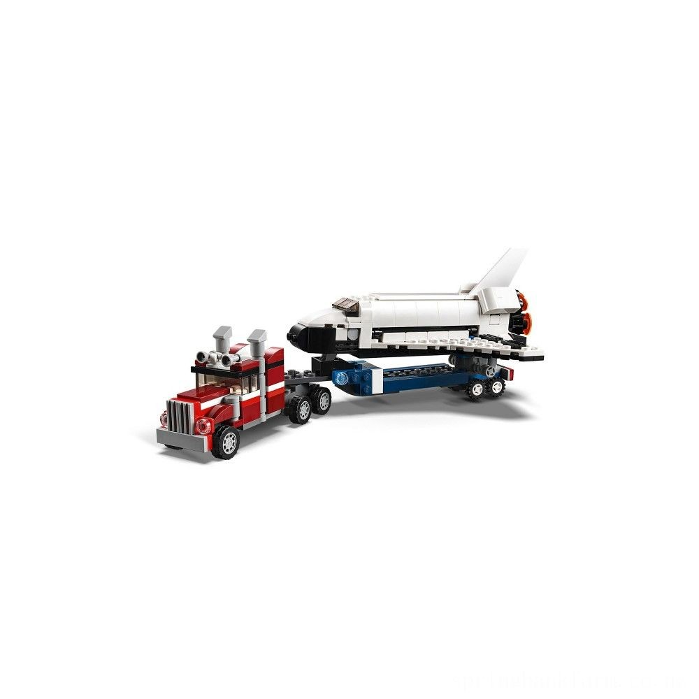 LEGO Creator Shuttle Transporter 31091 Deal