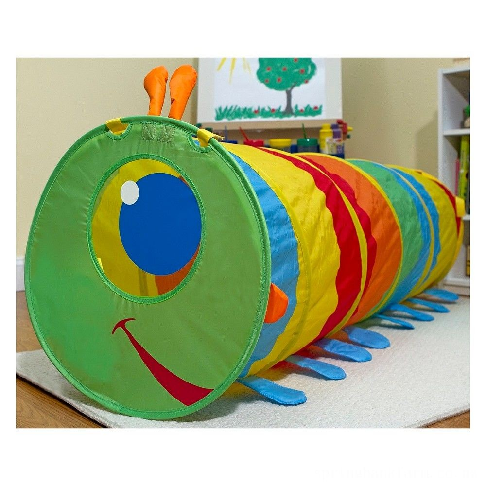 Melissa & Doug Sunny Patch Happy Giddy Crawl-Through Tunnel Deal
