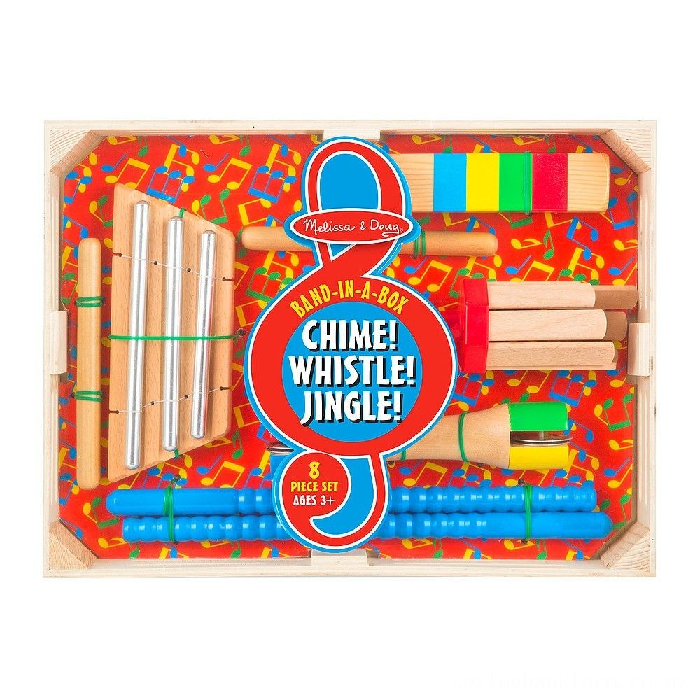 Melissa & Doug Band-in-a-Box Chime! Whistle! Jingle! Deal