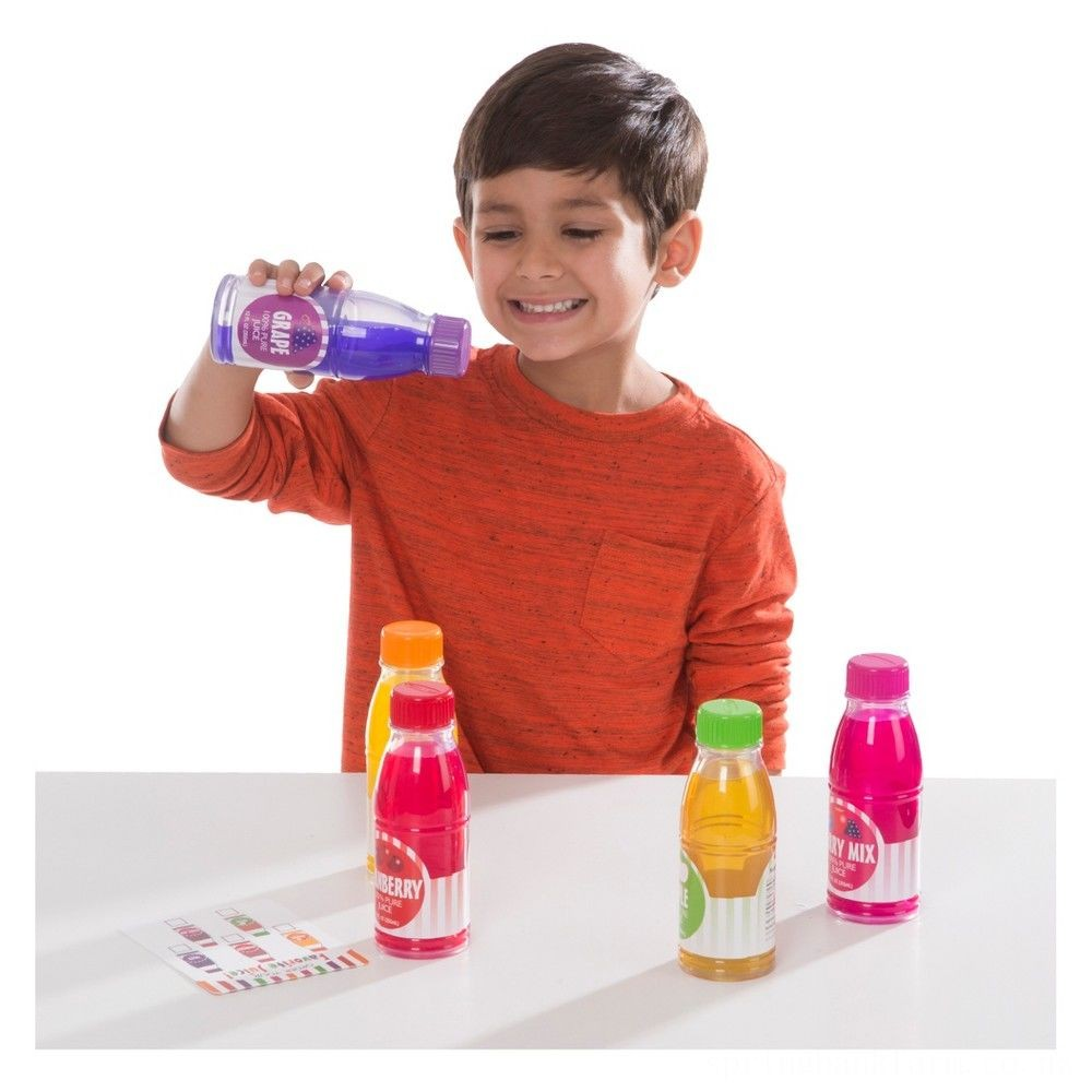 Melissa & Doug Tip & Sip Toy Juice Bottles and Activity Card (6pc) Deal