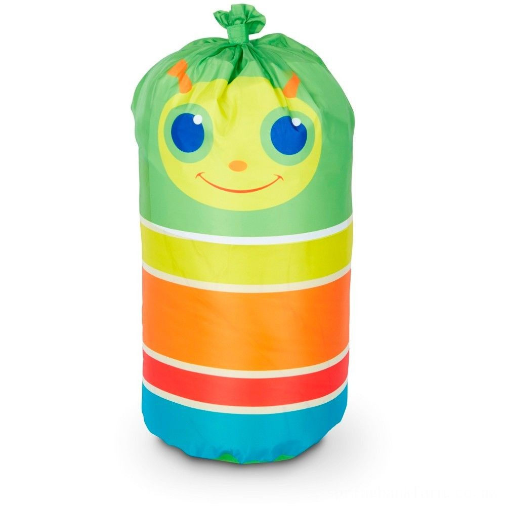 Melissa & Doug Sunny Patch Giddy Buggy Sleeping Bag With Matching Storage Bag Deal
