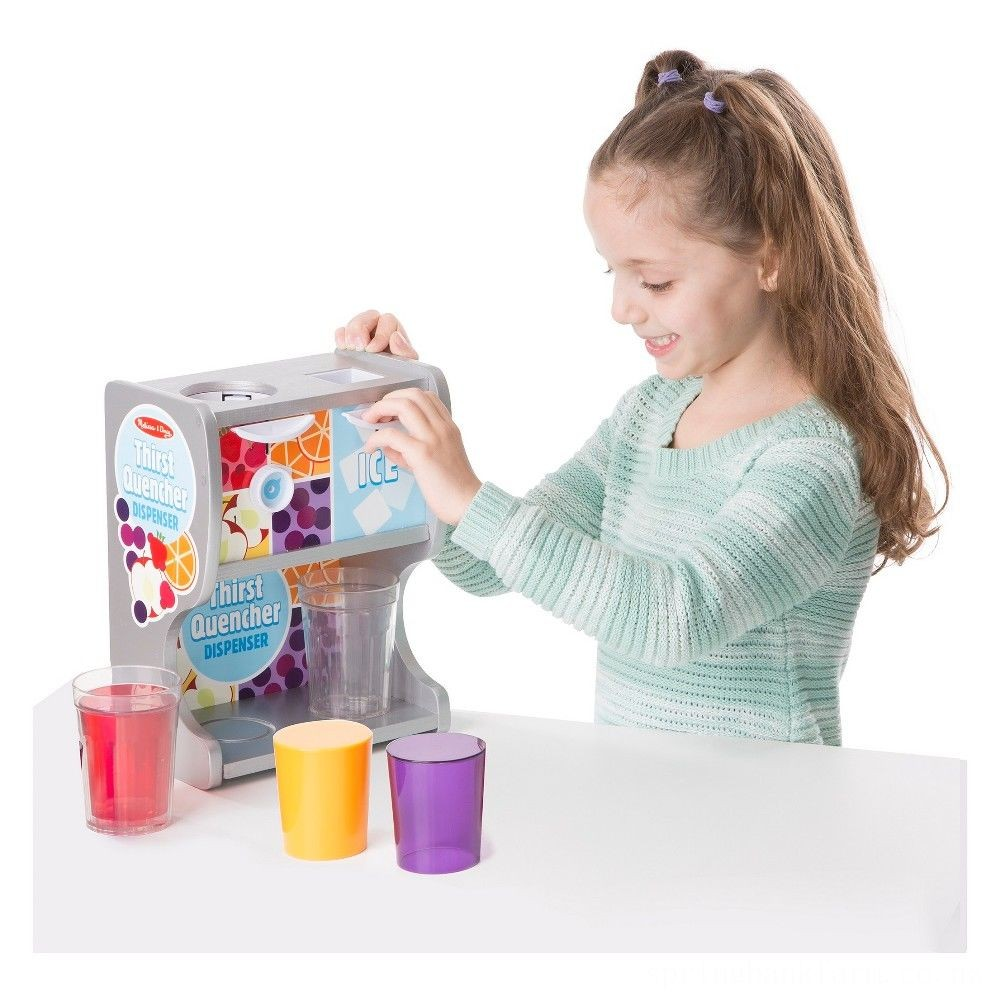 Melissa & Doug Thirst Quencher Dispenser Deal