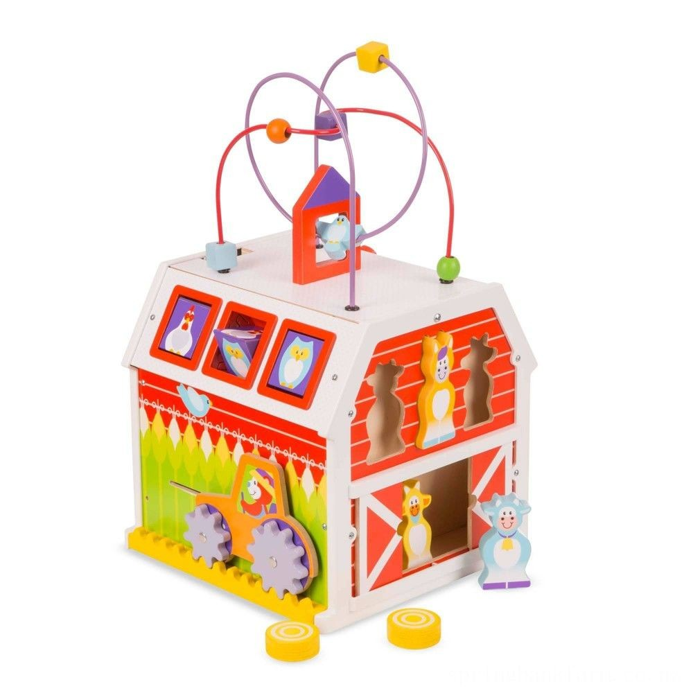 Melissa & Doug First Play Activity Barn Deal